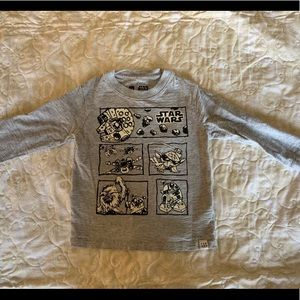 Star Wars cotton long sleeve shirt